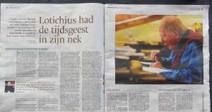 Eindhovens Dagblad april 2013 (Marjolein Sjengers)